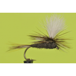 Parachute Adams for fly fishing Montana's Bwo hatches