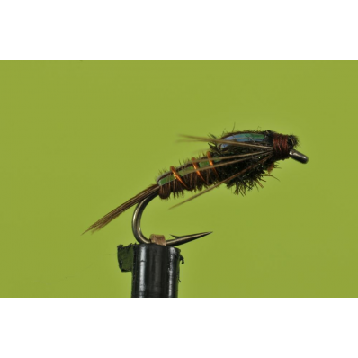 Flashback Pheasant Tail for fly fishing Bozeman's BWO hatches