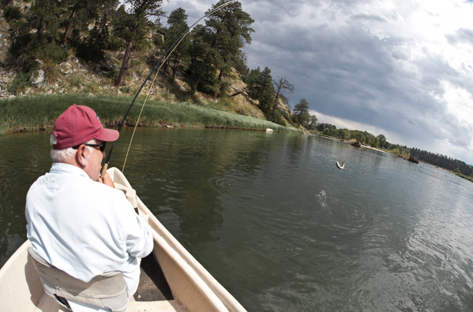Fly Fishing the Yellowstone River near Livingston with Fins & Feathers of Bozeman fly fishing guide Toby Swank.