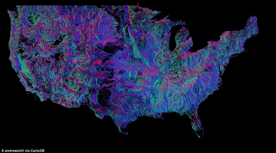 River Basins of the US